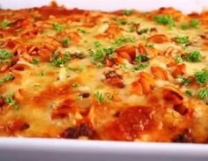 Блюда из помидор и макарон