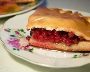 Как приготовить пирог с начинкой из калины