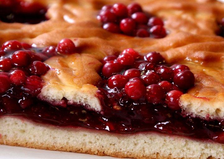 Пирог с брусники рецепты с
