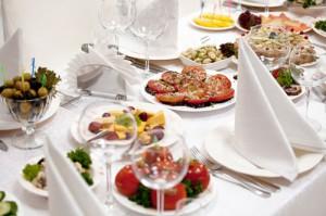 Выбор блюд для праздничного стола
