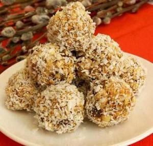 Овсяные конфеты с сухофруктами