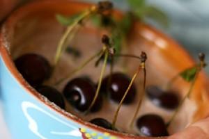 Клафути из вишни