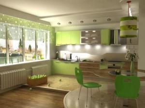 Детали при обустройстве кухни