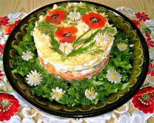 Как правильно заправить салат?