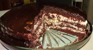 Торт «Прага» по-старинному