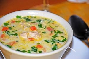 Готовим суп из курицы