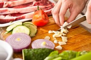 Различность кухонных ножей