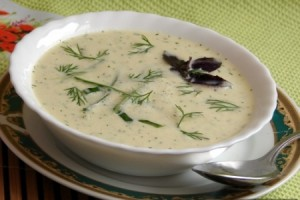 Готовим холодный суп из картофеля