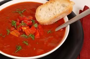 Готовим томатный суп