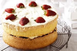 Правильный бисквитный торт