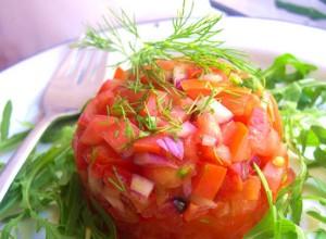 Блюда из помидор
