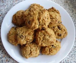 Печень из хлопьев с изюмом