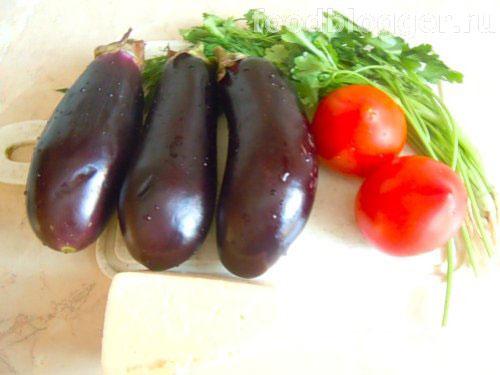 Баклажаны с помидорами - 1