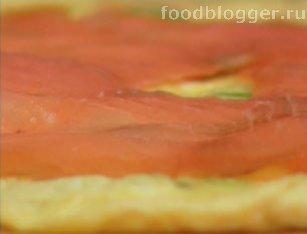 Яичные роллы с лососем - 4