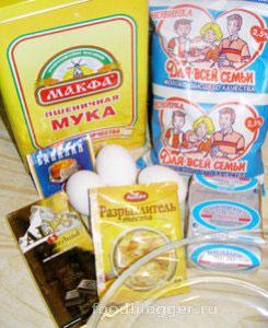 Экспресс-кекс шоколадно маковый - 1