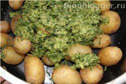 Картофель с Сальса-верде - 5