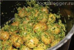 Картофель с Сальса-верде - 6