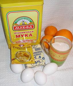 Кекс апельсиновый в СВЧ - 1