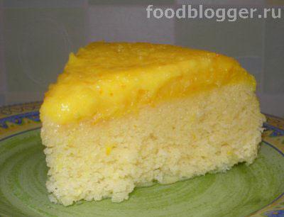 Кекс апельсиновый в СВЧ - 4