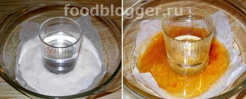 Кекс с бананами в карамели (в СВЧ) - 1