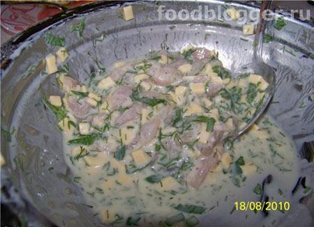 Куриные блинчики с сыром - 1