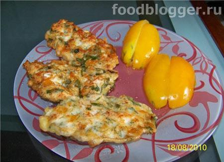 Куриные блинчики с сыром - 3