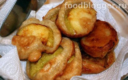 Оладышки с яблоками - 7