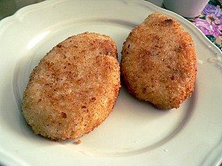 Рисовые котлетки с грибами