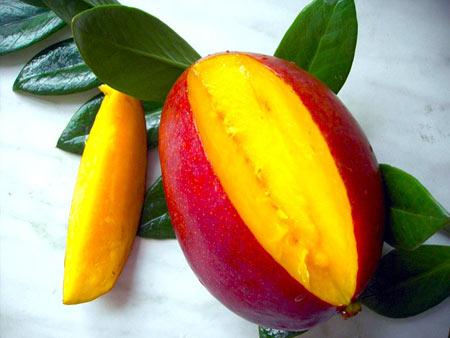 Как чистить и кушать манго