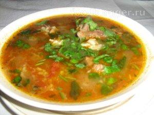Как варить суп-харчо